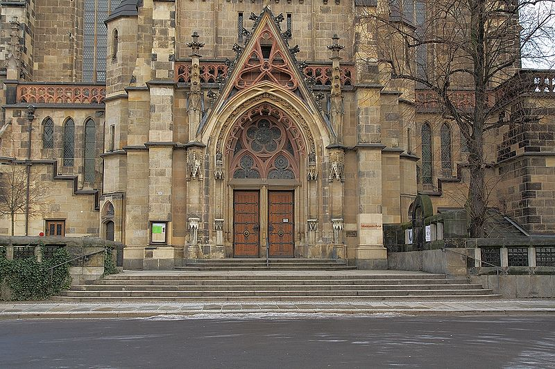 Monatsgedicht im Januar - Foto Thomaskirche Leipzig