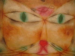 Zwei Monatsgedichte von Birgit Petri und Diana Jahr - Thema Augenblicke - Paul Klee: Katze und Vogel