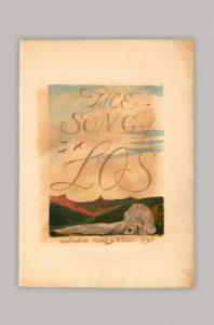 Künstlerbücher in der Bayerischen Staatsbibliothek - William Blake: The song of Los, 1795. Signatur: Chalc. 160 (frühere Signatur: 2 L.sel.l 45) | Foto: © Bayerische Staatsbibliothek