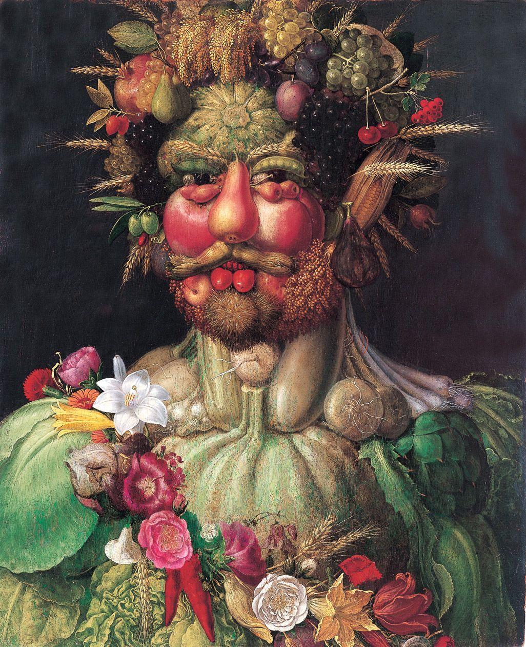 dichten, ganz praktisch allegorie unternehmen lyrik portraet rudolf II. als vertumnus gemaelde arcimboldo
